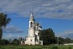 Gammal kyrka i Vologda Royaltyfri Fotografi