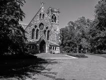 Gammal kyrka @ VA, USA Arkivfoto
