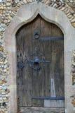 gammal kyrklig dörr Royaltyfria Bilder