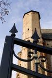 gammal kyrklig fästning Royaltyfria Bilder