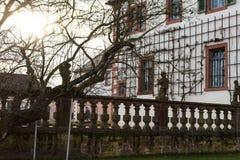 Gammal kyrklig vägg #3 Royaltyfria Bilder