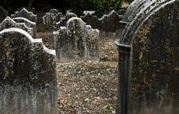 gammal kyrkogård Arkivbild