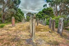 gammal kyrkogård Arkivfoton