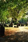 gammal kyrkogård north Royaltyfria Foton