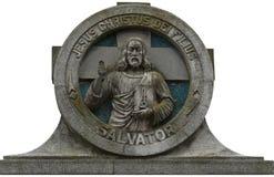 Gammal kyrkogårdgravsten Royaltyfri Foto