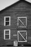 gammal ladugård Arkivbilder