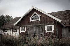 gammal ladugårdfinska Royaltyfri Foto