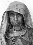 gammal lady Arkivfoto