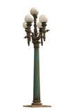 gammal lamppost Arkivfoton