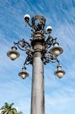 Gammal Lamppost Royaltyfria Bilder