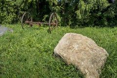 Gammal lantbrukutrustning Arkivbilder