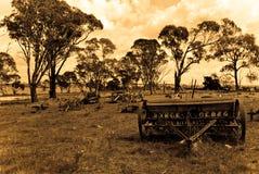 gammal lantgård royaltyfri foto