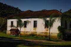 gammal lantgård Royaltyfri Bild