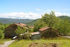 Gammal lantgård i Liguria, Italien fotografering för bildbyråer