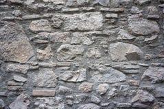 Gammal lantlig textur för stenvägg Royaltyfria Bilder