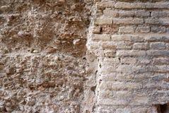 Gammal lantlig textur för stenvägg Royaltyfri Foto
