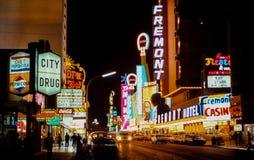 Gammal Las Vegas för tappning mitt- 70-tal Arkivbild