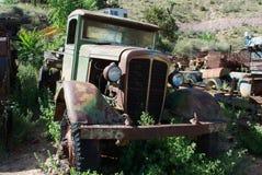 gammal lastbil Royaltyfri Fotografi
