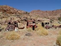 gammal lastbil Arkivfoto