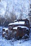 gammal lastbil Royaltyfria Bilder