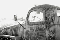 gammal lastbil Arkivfoton