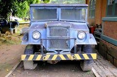 gammal lastbil 4x4 Royaltyfria Bilder