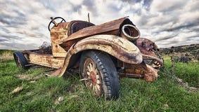gammal lastbil Royaltyfria Foton
