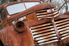 gammal lastbil Fotografering för Bildbyråer