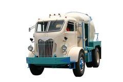 gammal lastbil för cement Arkivfoto