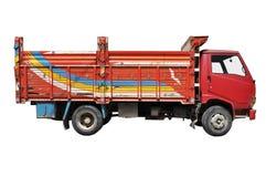 gammal lastbil för last Royaltyfri Fotografi