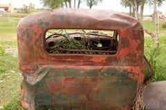Gammal lastbilkropp Arkivfoto