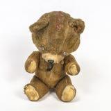 Gammal leksak för nallebjörn arkivbilder