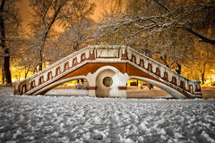 Gammal liten bro Royaltyfria Bilder