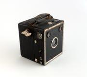 Gammal liten kamera Arkivbilder