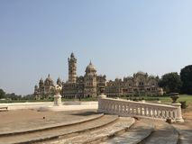 Gammal liten slott i Indien royaltyfria bilder