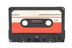 gammal ljudsignalkassett Arkivfoto