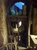 Gammal loft nära Sorrento i Italien Arkivfoto