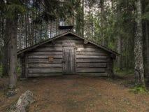 gammal loggad för kabin Royaltyfria Foton