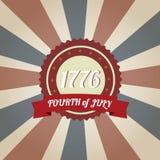 Gammal logo Royaltyfria Bilder