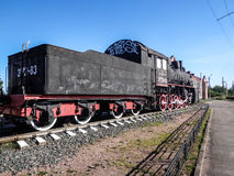 gammal lokomotiv Arkivfoto