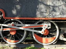 gammal lokomotiv Arkivbild