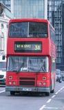 Gammal London buss London UK Arkivfoton