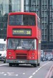 Gammal London buss London UK Fotografering för Bildbyråer
