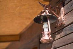 Gammal lyktalamptappning Royaltyfria Bilder