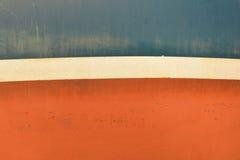 Gammal målad textur för fartygyttersida Royaltyfri Fotografi