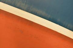 Gammal målad textur för fartygyttersida Arkivbilder