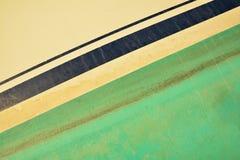 Gammal målad textur för fartygyttersida Arkivfoto