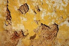 gammal målad vägg Royaltyfri Foto