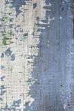 Gammal målad wood bakgrund Arkivfoton