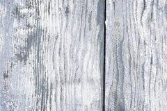 Gammal målad wood bakgrund Arkivfoto